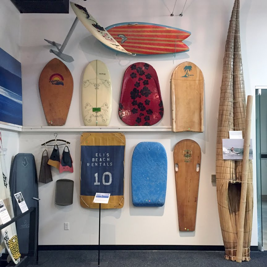 On display at the Surfing Heritage & Culture Center, Nov. 2015